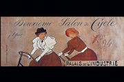 Vintage French poster - Deuxieme Salon du Cycle.